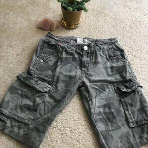 Camo True Religion Shorts!
